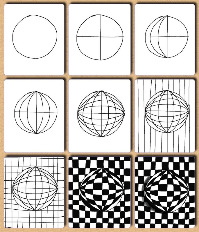 Printables Op Art Worksheet op art worksheets davezan davezan